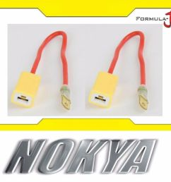details about nokya wire harness h1 nok9123 head light bulb high beam socket plug play replace [ 1000 x 833 Pixel ]
