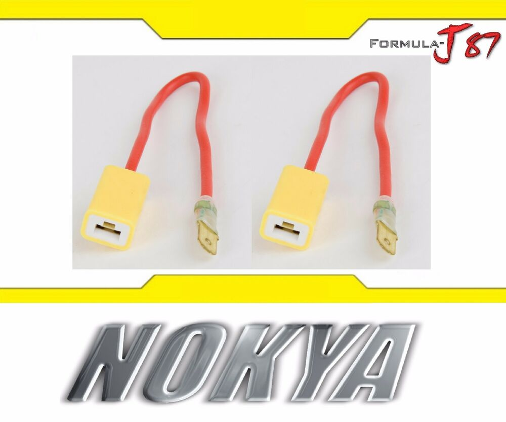 hight resolution of details about nokya wire harness h1 nok9123 head light bulb high beam socket plug play replace