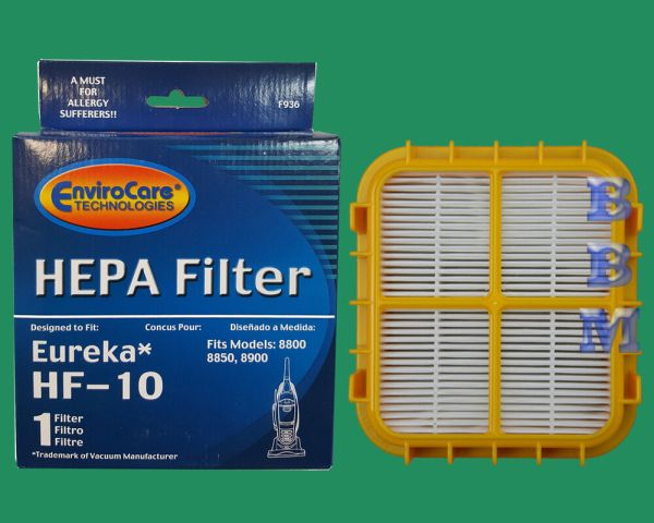 1 Hf 10 Hepa Filter Eureka Upright Vacuum Cleaner Capture Pet 8800 8850 63347