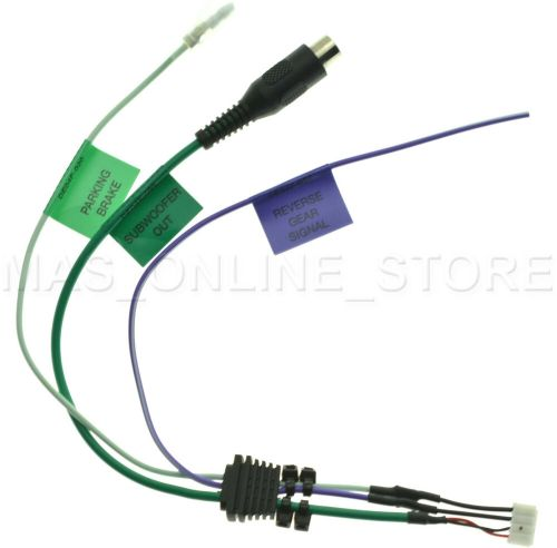small resolution of jvc kwav61 kw av61 kwav61bt kw av61bt park brake reverse gear subwoofer cable ebay