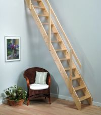 Madrid Wooden Space Saver Staircase Kit (Loft Stair ...