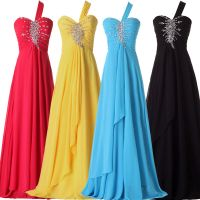 HOT Evening Gown Bridesmaid Dresses Prom Dress Formal ...