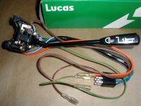 GENUINE LUCAS HEAD LAMP FLASHER HORN SWITCH STALK 12V LAND ...