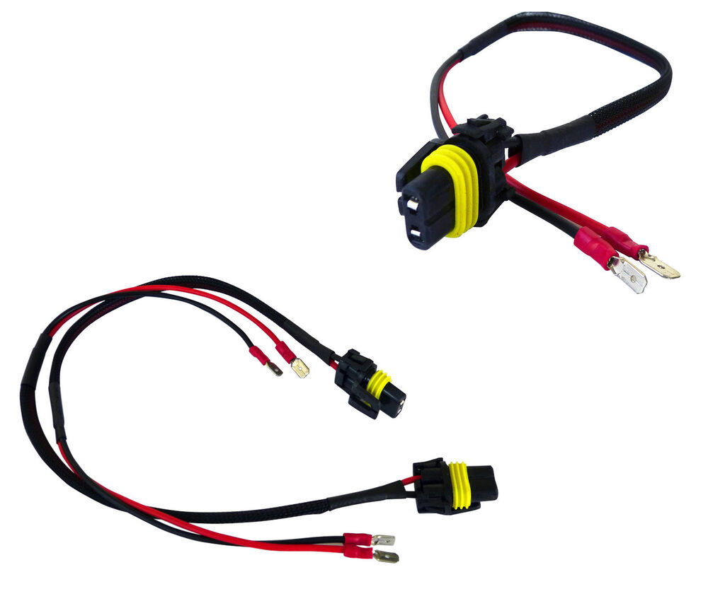 H1 Wire Harness Auto Electrical Wiring Diagram Kawasaki H3 Male Connectors Plugs Pigtail Bulb Wires Hid