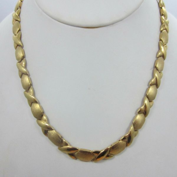 eBay 16 Inch Gold Chain Necklace
