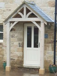 BESPOKE GREEN OAK PORCH FRONT DOOR CANOPY HANDMADE IN ...