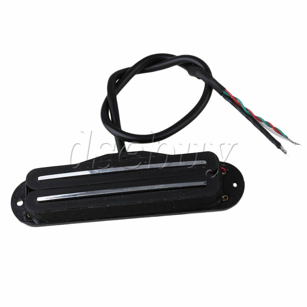 hight resolution of dual hot rail humbucker guitar neck pickup 4 wire ebay dual humbucker wiring diagram dual humbucker coil tap wiring