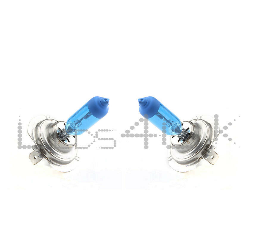 H7 55W 4200K Xenon Effect Look Super White Headlight Bulbs