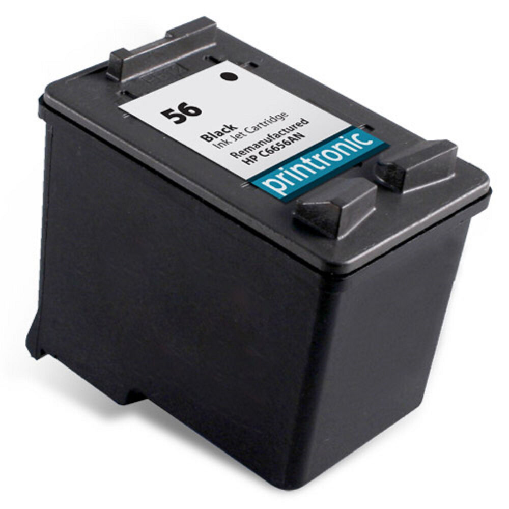 Recycled HP 56 ink (C6656AN) Black for HP PSC 1315 1210 1350 1310 1110 766897273629 | eBay