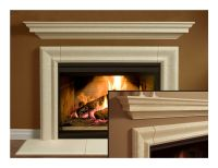 Fireplace Mantel (mantle) Surround Simplicity Design Cast