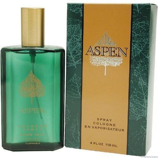 Aspen Men-coty-spray Cologne-4.oz-118 Ml-authentic