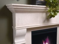 Edinborough Fireplace Mantel (mantle) Surround Cast Stone