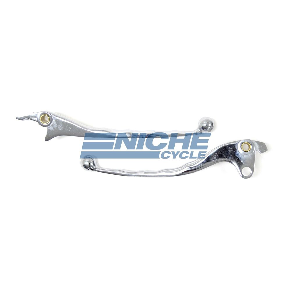 Honda GL1500 Goldwing Lever Set Brake,Clutch Chrome
