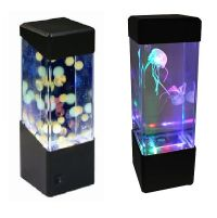 Jellyfish Water Ball Aquarium Tank LED Lights Lamp ...