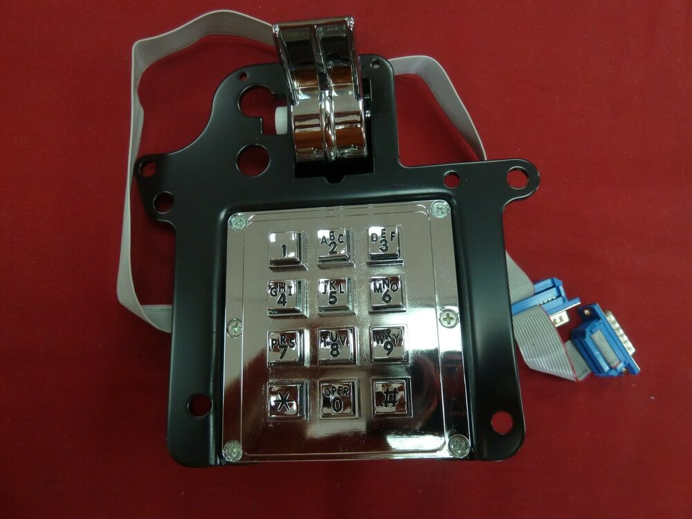 New Protel Armored Hook Switch Assembly Keypad For