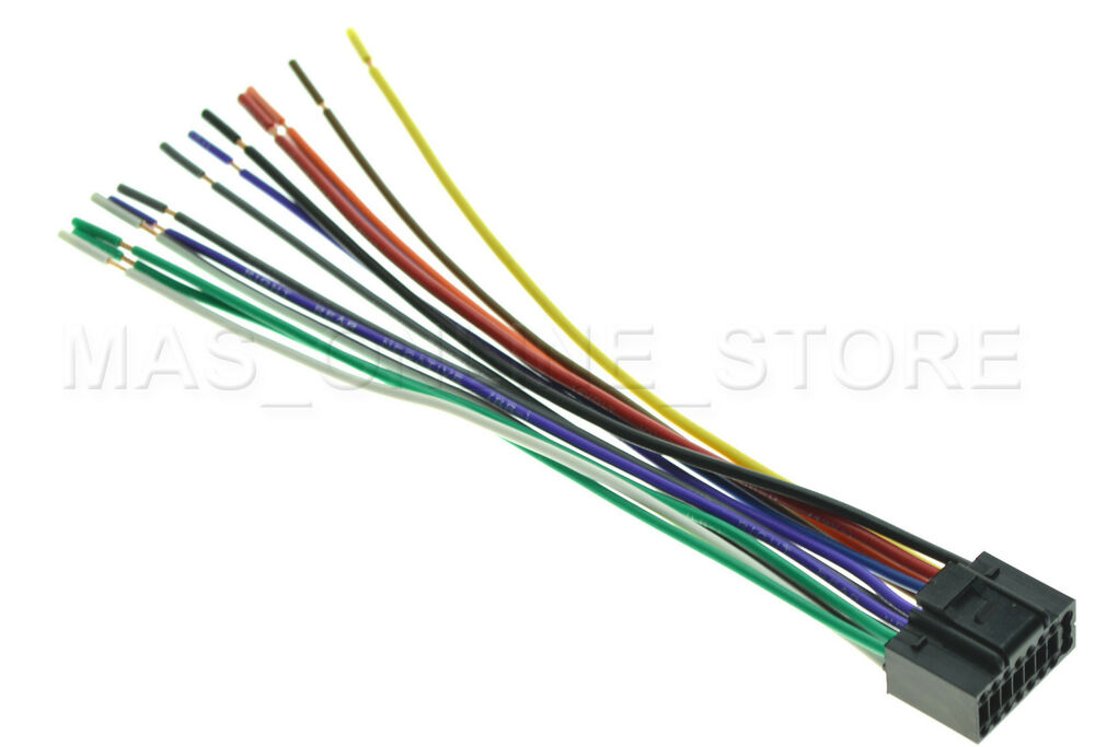 WIRE HARNESS FOR JVC KD-S39 KDS39 *PAY TODAY SHIPS TODAY