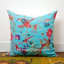 Turquoise Pillow Cover Home Decor Cotton Sofa 16