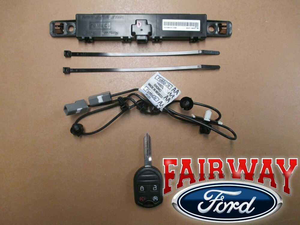11 Thru 16 F250 F350 F450 F550 Oem Genuine Ford Remote