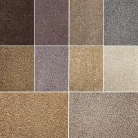NEW! High Quality Twist Pile Carpet, Natural Colours ...