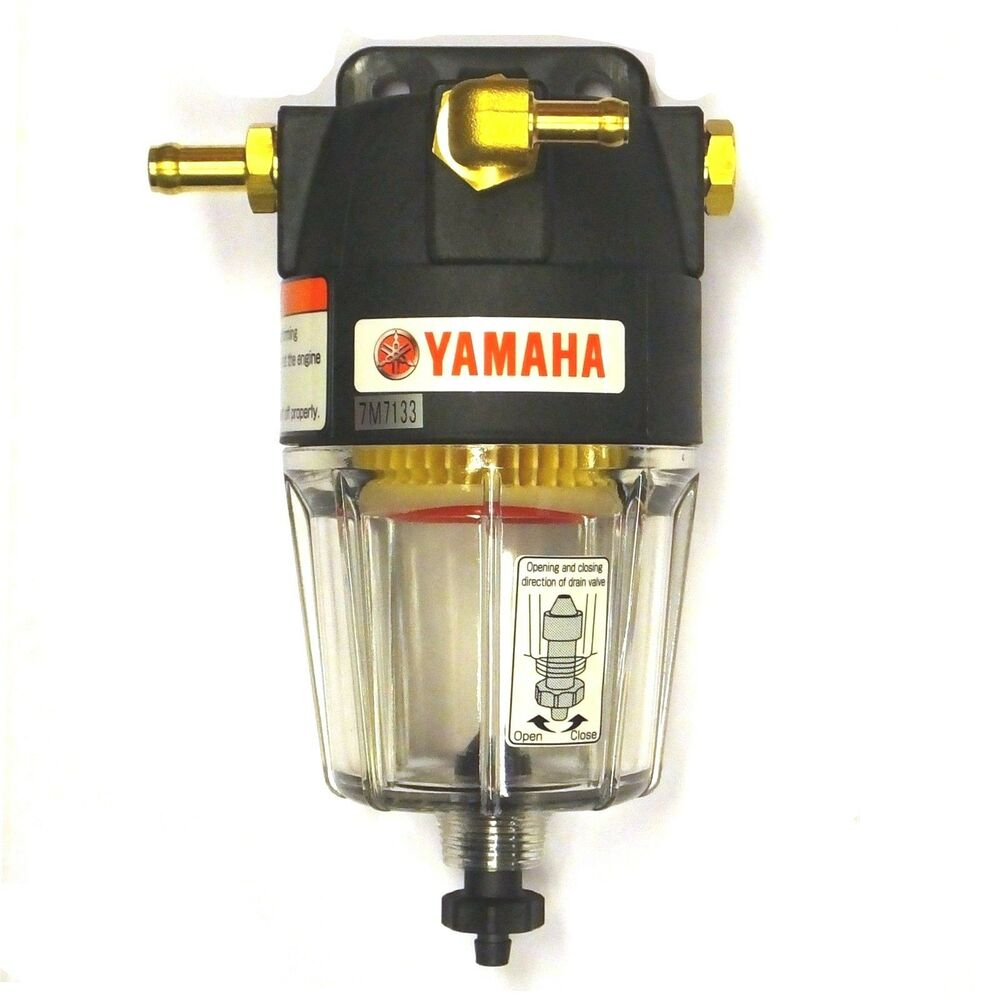 hight resolution of details about yamaha water separating fuel filter up to 300hp marine outboard motor 10 8