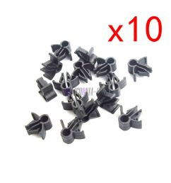 10pcs wire cable loom routing harness clip retainer 90654 sa4 003 6mm for honda [ 1000 x 1000 Pixel ]