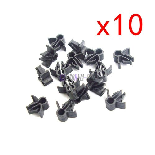 small resolution of 10pcs wire cable loom routing harness clip retainer 90654 sa4 003 6mm for honda