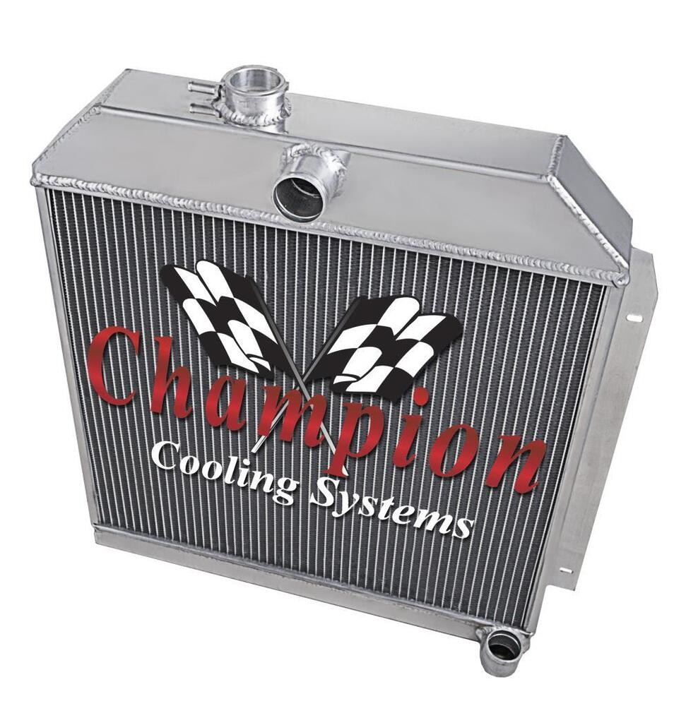 medium resolution of details about 1949 50 51 52 straight six engine 6 cyl will cool v8 3 row alum ca radiator