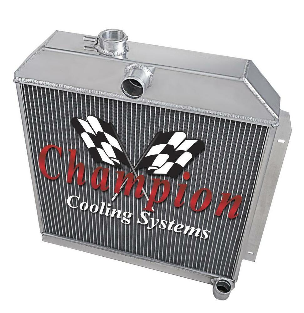 hight resolution of details about 1949 50 51 52 straight six engine 6 cyl will cool v8 3 row alum ca radiator