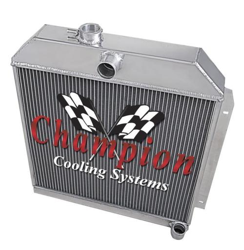 small resolution of details about 1949 50 51 52 straight six engine 6 cyl will cool v8 3 row alum ca radiator