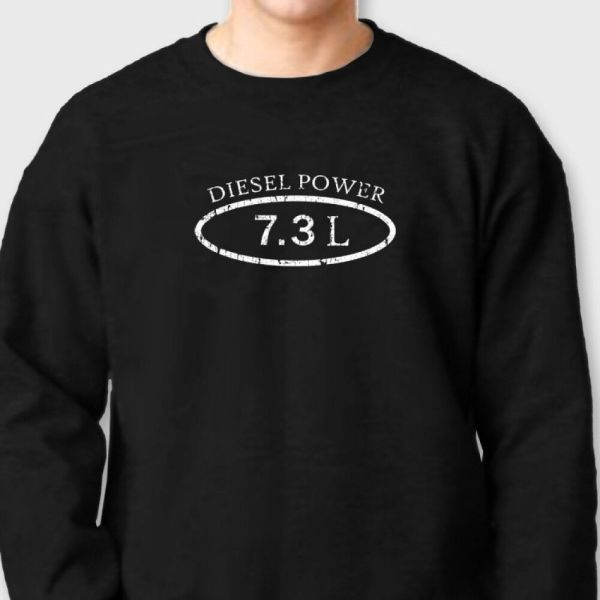Diesel Power 7.3l Truck Ford Dodge T-shirt Funny Engine