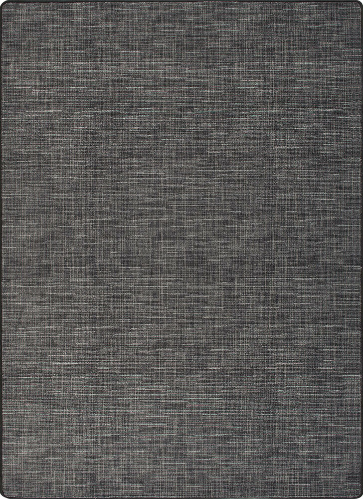living room rugs modern online furniture shopping stitches black linen milliken cut pile pattern area rug ...