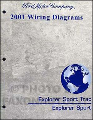 2001 Ford Explorer Wiring Diagram Manual Sport and Sport