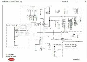 Before Oct 15, 2001 Peterbilt 387 Complete Wiring Diagram