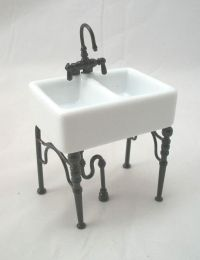 Kitchen Sink Small - 1.742/4 dollhouse miniature furniture ...