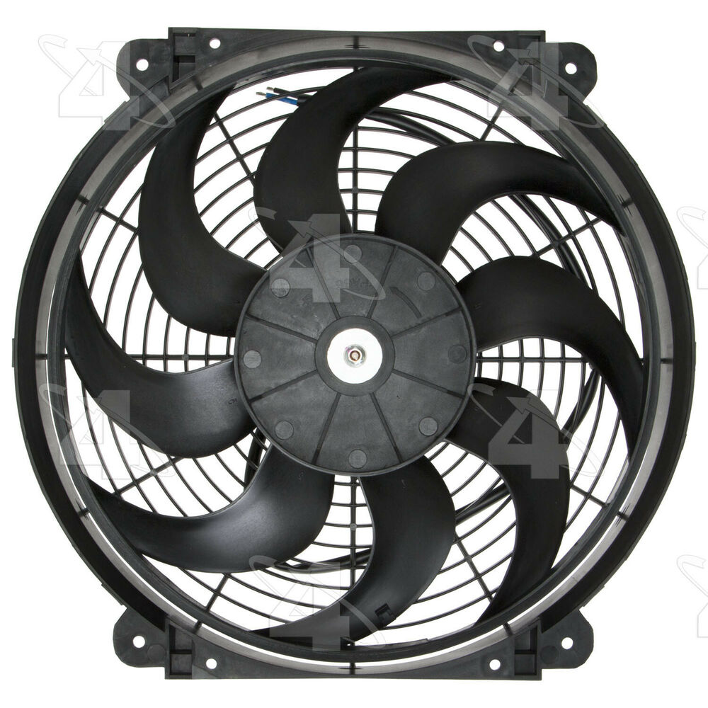 hight resolution of details about hayden 14 rapid cool thin line electric fan kit 3690