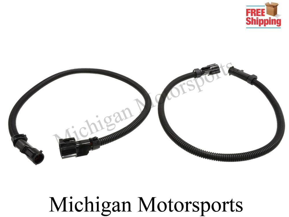 Mustang O2 Oxygen Sensor Extension Wire Harness Pair 1986