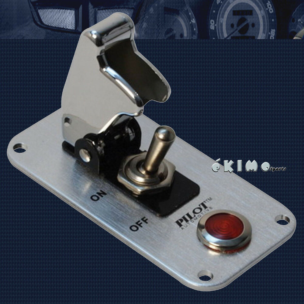 Lighted Indicator Switch