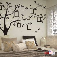 Family Tree Wall Decal Sticker Large Vinyl Photo Picture