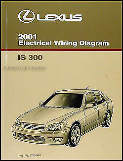 2001 Lexus IS 300 Wiring Diagram Manual Original IS300