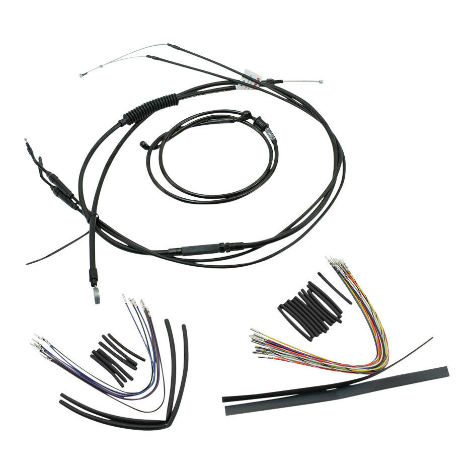 Burly Extended Cable Brake Line Kit 16