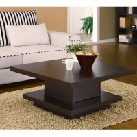 Square Cocktail Table Coffee Center Storage Living Room ...
