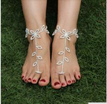 Beach Wedding Barefoot Sandals Foot Jewelry Anklet
