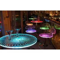 Spyra LED Light-up Bar Table Furniture Accent Decor Party ...