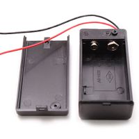 New 9V Volt PP3 Battery Holder Box DC Case With Wire Lead ...