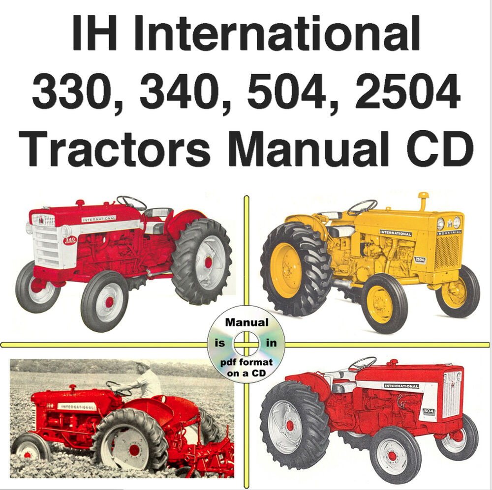 hight resolution of manual farmall 504