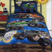 Monster Jam - Grave Digger - Double/US Full Bed Quilt ...