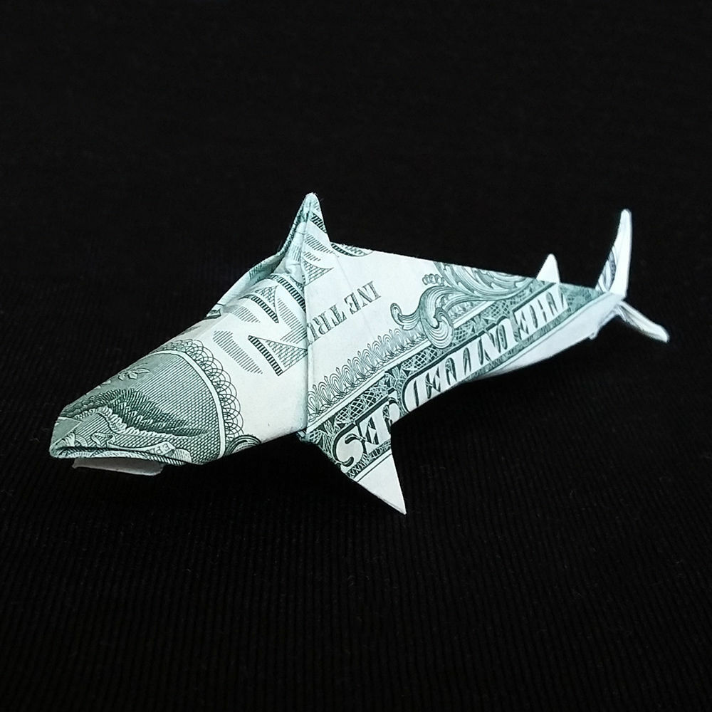Origami Shark Diagram