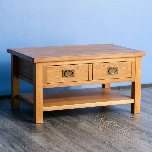 Surrey Oak Coffee Table Solid Wood Lounge