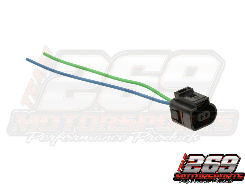 2 Pin Pigtail Plug Wiring Connector For VW Jetta Golf MK4