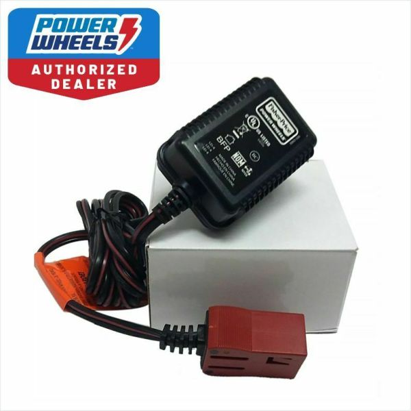 Power Wheels H4435 Dora Jeep Wrangler 6v Battery Charger Red Genuine